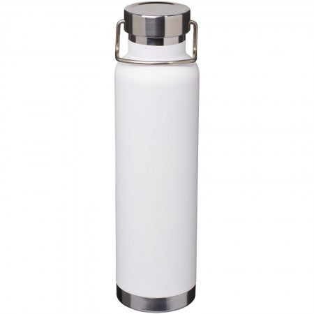 Thor Copper Vacuum Insulated Bottle, white, 27,2 x d: 7,2 cm