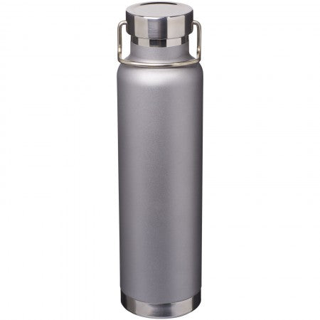 Thor Copper Vacuum Insulated Bottle, grey, 27,2 x d: 7,2 cm