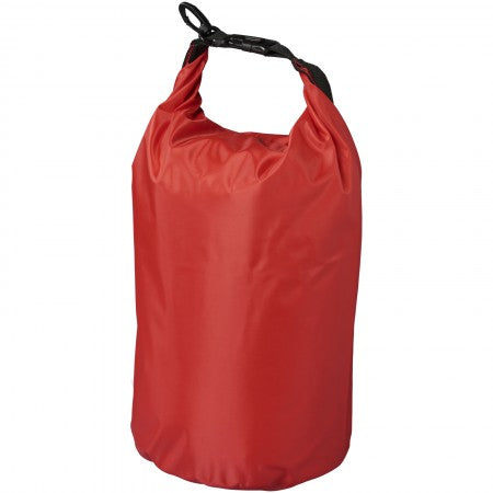 The Survivor Waterproof Outdoor Bag, red, 35,5 x d: 17,5 cm