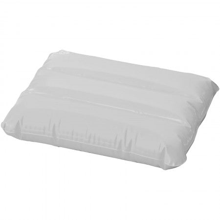 Wave inflatable pillow, white, 25 x 32 cm