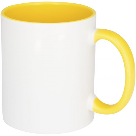 Pix sublimation colour pop mug, Yellow
