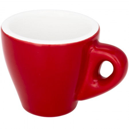 Perk coloured espresso mug, Red