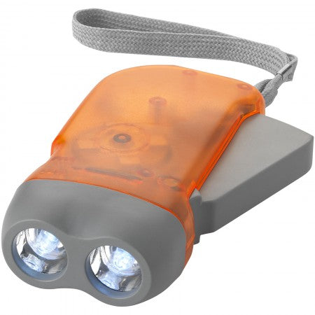 Virgo dynamo torch, orange, 10 x 5 x 2,5 cm