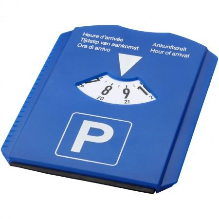 5-in-1 parking disk, blue, 15,5 x 11,8 x 0,6 cm - BRANIO