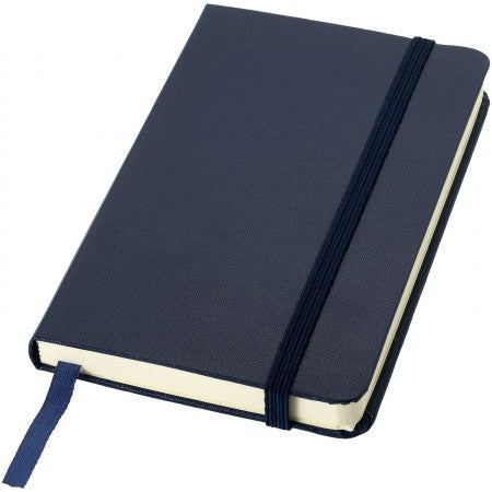 Classic pocket notebook, blue, 14,2 x 9,3 x 1,4 cm
