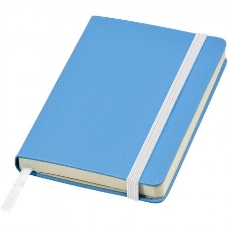 Classic pocket notebook, blue, 14 x 1,5 x 9,5 cm