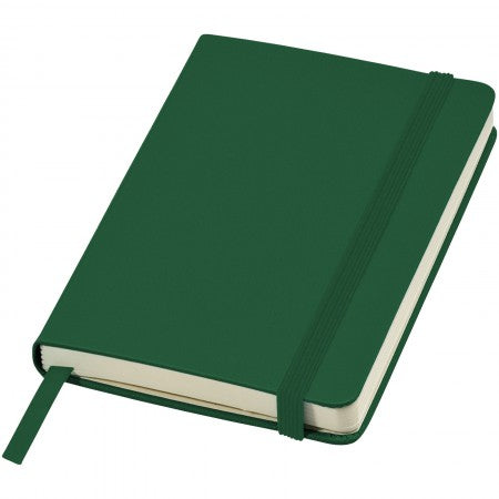 Classic pocket notebook, green, 14 x 1,5 x 9,5 cm
