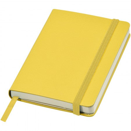 Classic pocket notebook, yellow, 14 x 1,5 x 9,5 cm