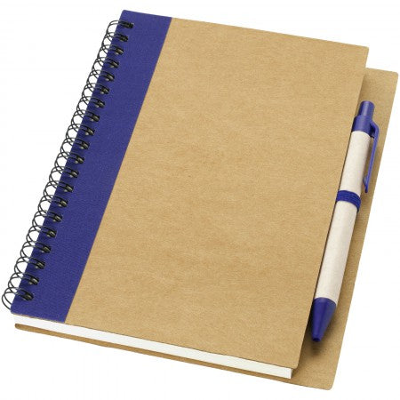 Priestly notebook and pen, white, 17,8 x 13,5 x 1 cm