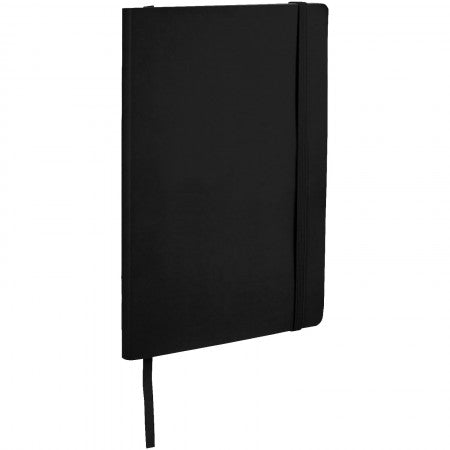 Classic Soft Cover Notebook, solid black, 21 x 14 x 1,4 cm