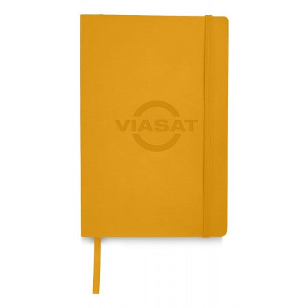 Classic Soft Cover Notebook, yellow, 21 x 14 x 1,8 cm