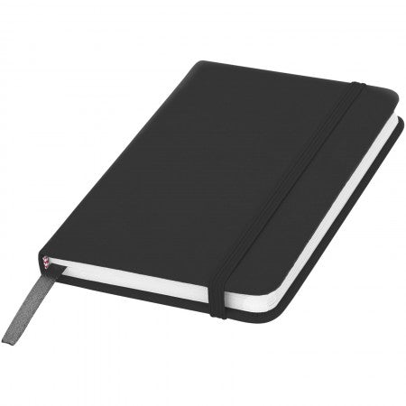 Spectrum A6 Notebook, solid black, 14 x 9 x 1,2 cm