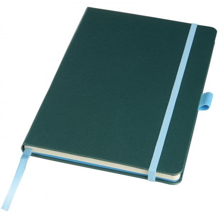Melya Colourful Notebook, green, 21,4 x 14,3 x 1,4 cm