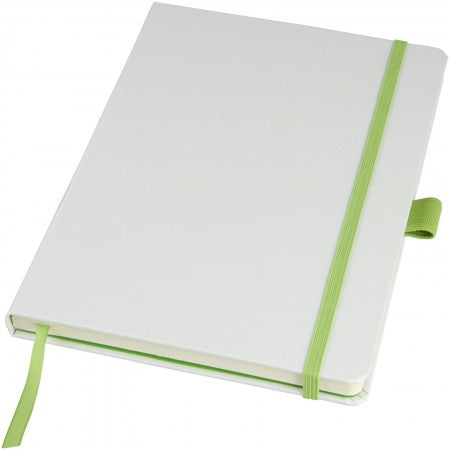 Melya Colourful Notebook, white, 21,4 x 14,5 x 1,5 cm