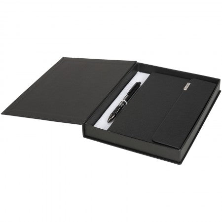 Notebook gift set (106556), black solid