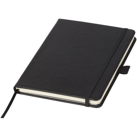 Bound Notebook (A5 size) (106872), black solid