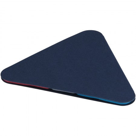 Triangle sticky pad, blue