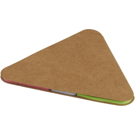 Triangle sticky pad, brown