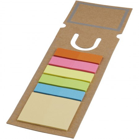 Sticky note bookmark, Brown
