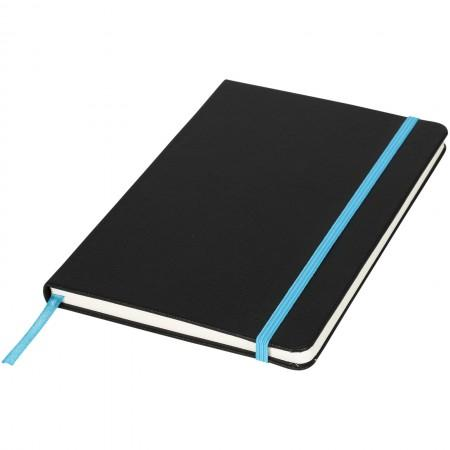 A5 Lasercut Notebook, solid black - BRANIO