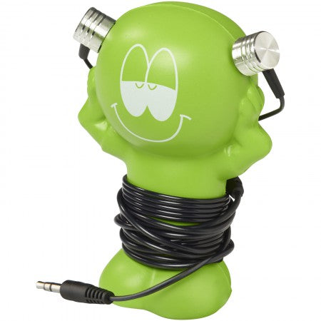 Best Friend  Earbuds, green, 5 x 6 x 10 cm