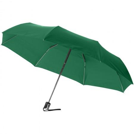 "21.5"" Alex 3-section auto open and close umbrella, green, 28 - BRANIO"