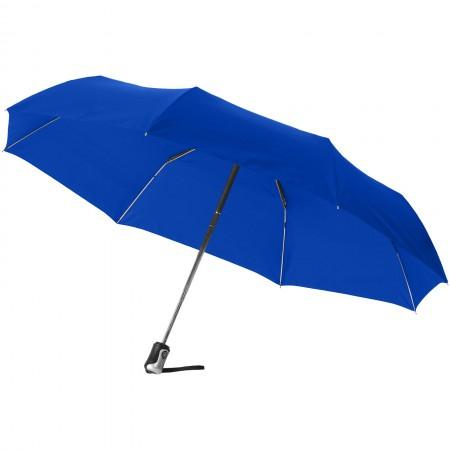 "21.5"" Alex 3-section auto open and close umbrella, blue, 28 - BRANIO"