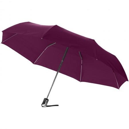 "21.5"" Alex 3-section auto open and close umbrella - BRANIO"