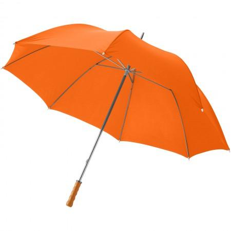 "30"" Karl golf umbrella, orange, 100 x d: 128 cm - BRANIO"