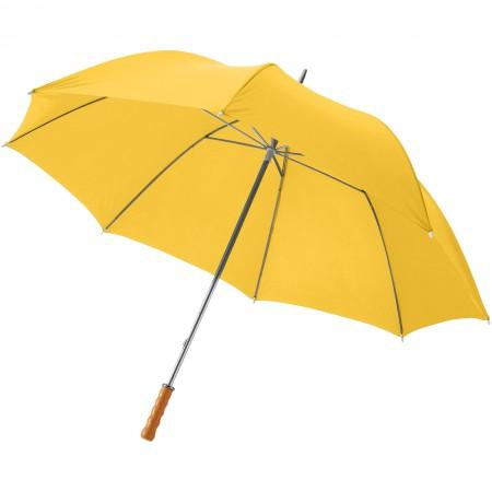 "30"" Karl golf umbrella, yellow, 100 x d: 124 cm - BRANIO"