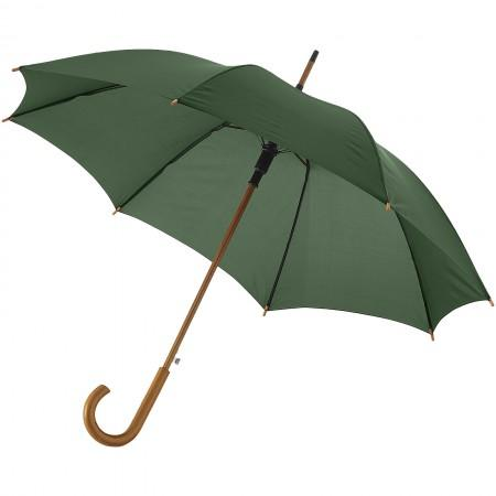 "23"" Kyle automatic classic umbrella, green, 88 x d: 106 cm - BRANIO"