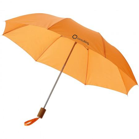 "20"" Oho 2-section umbrella, orange, 37,5 x d: 90 cm - BRANIO"