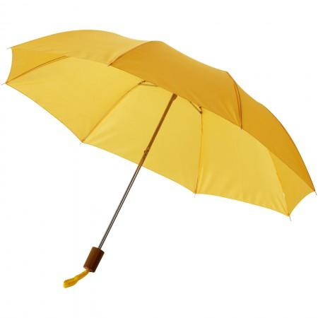 "20"" Oho 2-section umbrella, yellow, 37,5 x d: 90 cm - BRANIO"
