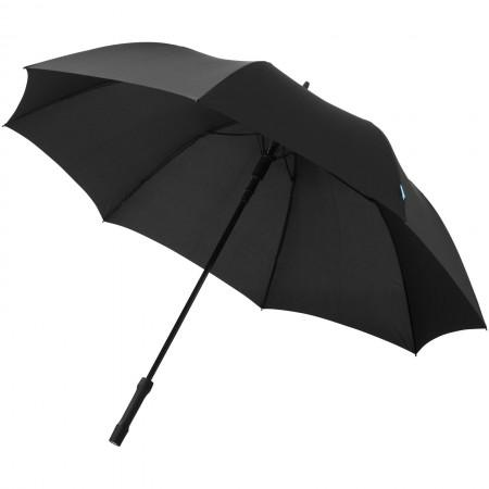 "27"" A8 automatic umbrella with LED light, solid black, 93 x"