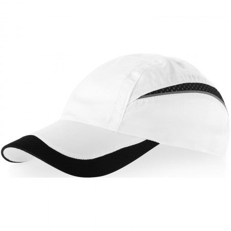 Qualifier 6p mesh cap, Black