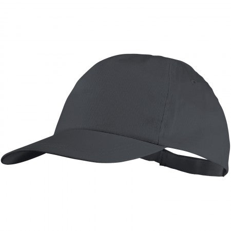 Basic 5 Panel cap Grey