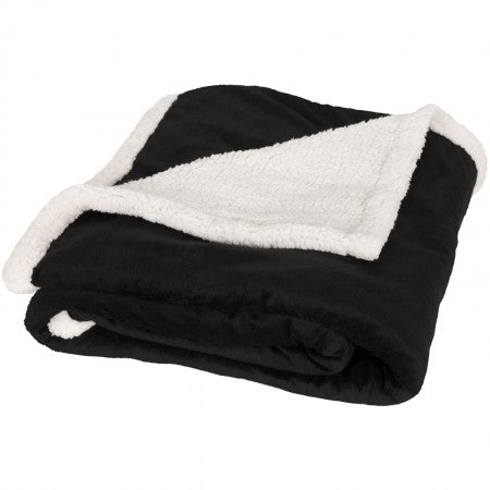 Field & Co Sherpa Blanket, solid black