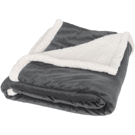 Field & Co Sherpa Blanket, Grey