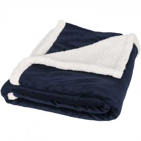 Field & Co Sherpa Blanket, Navy