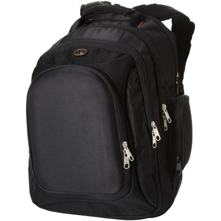 "Neotec 15.4"" laptop backpack, solid black, 32 x 25 x 44 cm"