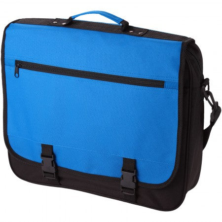 Anchorage conference bag, blue, 40 x 10 x 33 cm