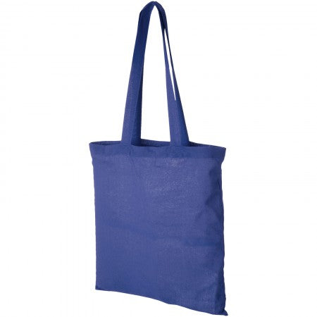 Carolina cotton Tote, blue, 38 x 42 cm