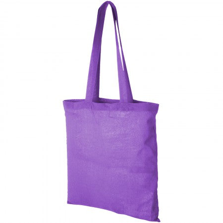 Carolina cotton Tote, purple, 38 x 42 cm