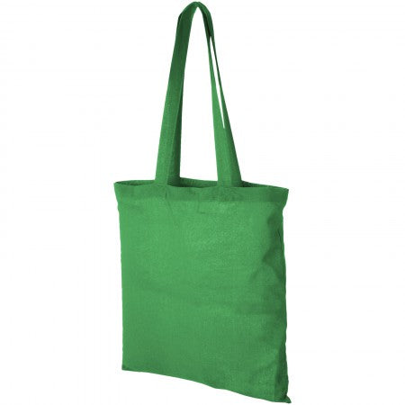 Carolina cotton Tote, green, 38 x 42 cm