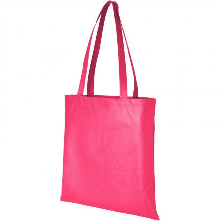 Zeus non woven convention tote, pink, 40 x 38,1 cm