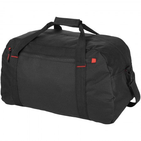 Vancouver travel bag, solid black, 56 x 27 x 36 cm