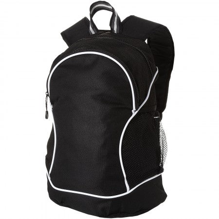 Boomerang backpack, solid black, 29 x 18 x 42 cm