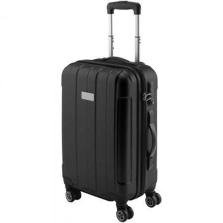 "20"" Carry-on Spinner, solid black, 34 x 23,5 x 56 cm - BRANIO"