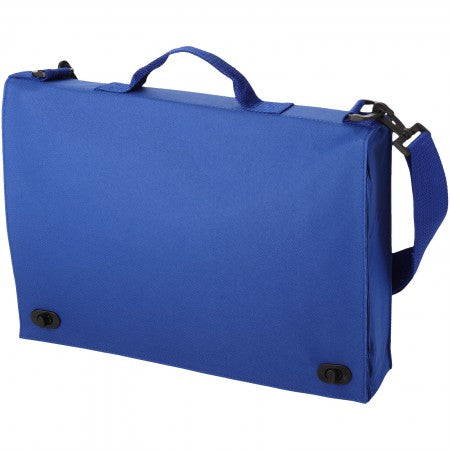 Santa Fee conference bag, blue, 38 x 7 x 28 cm