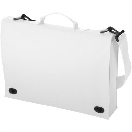 Santa Fee conference bag, white, 38 x 7 x 28 cm